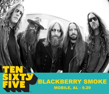Ten Sixty Five 1065 Mobile Alababama Artist Blackberry Smoke