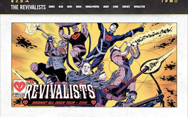 The Revivalists  template