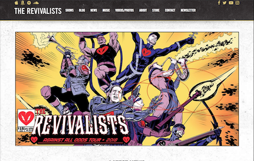 Full Mockup The Revivalists