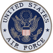 US Air Force Logo Round