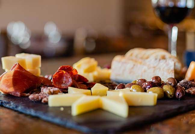 signature cheese board