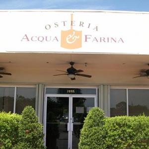 Osteria Acqua & Farina