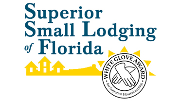 Superior Small Lodging Logo with White Glove Award