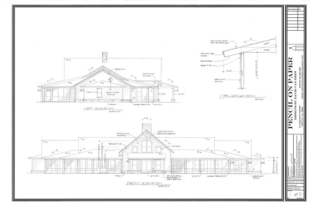 Warrior Lodge Blueprints 1