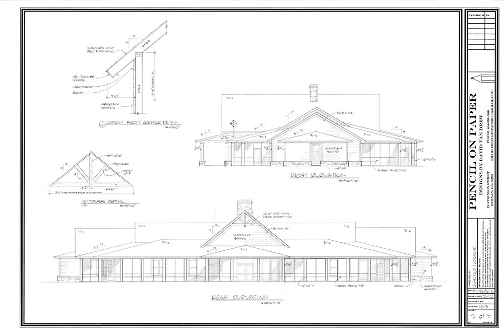 Warrior Lodge Blueprints 2
