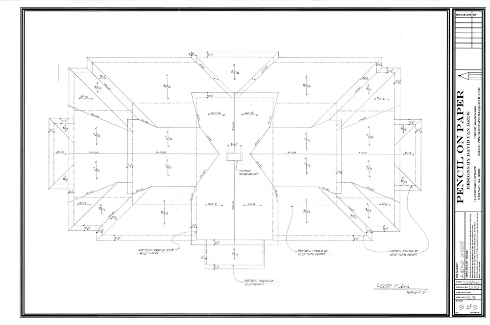 Warrior Lodge Blueprints 5