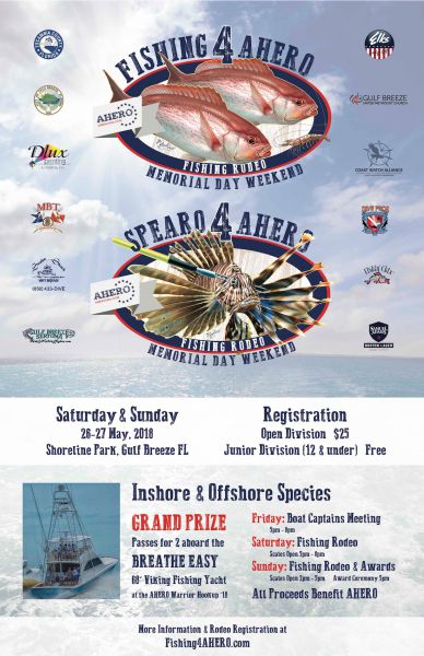 AHERO Fishing Event Poster