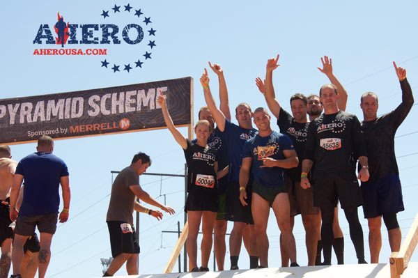 Team Tough4AHERO Event