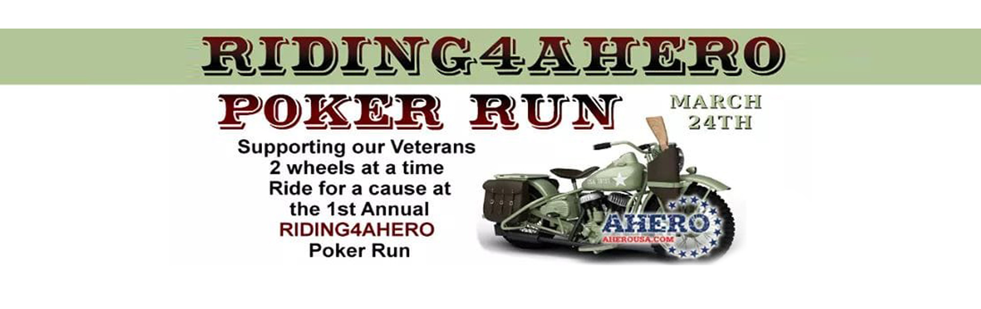 Riding4AHERO - Poker Run