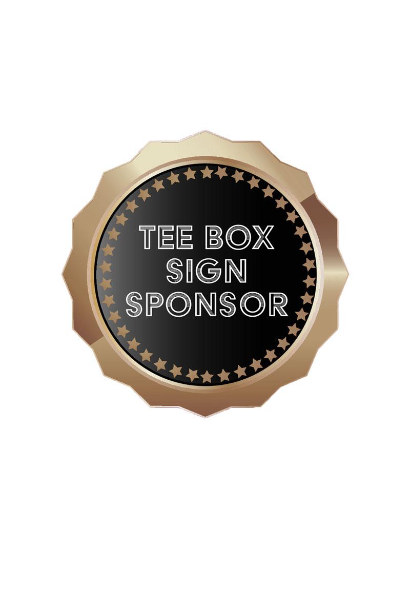 Tee Box Sign Sponsor