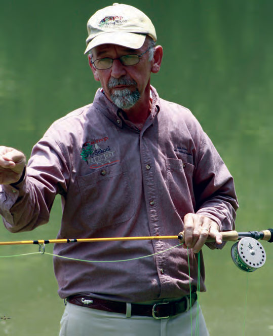 Keith Richard, Fishing Master Casting Instructor