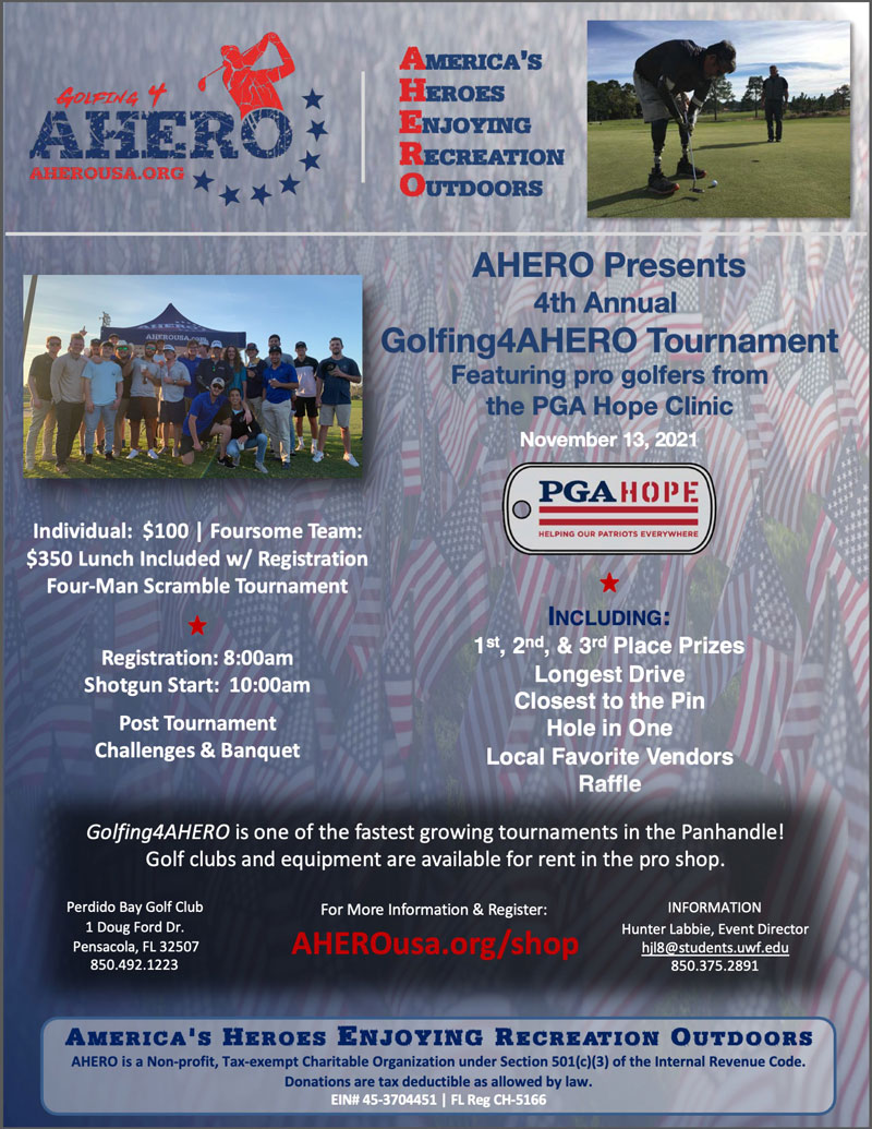 4th Annual Golfing4AHERO Golf Tournament