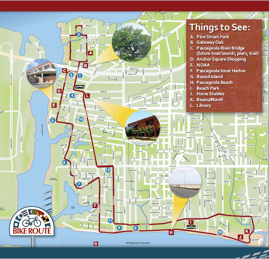 Historic Pascagoula Bike Trail