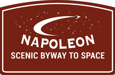 Napoleon Scenic Byway to Space