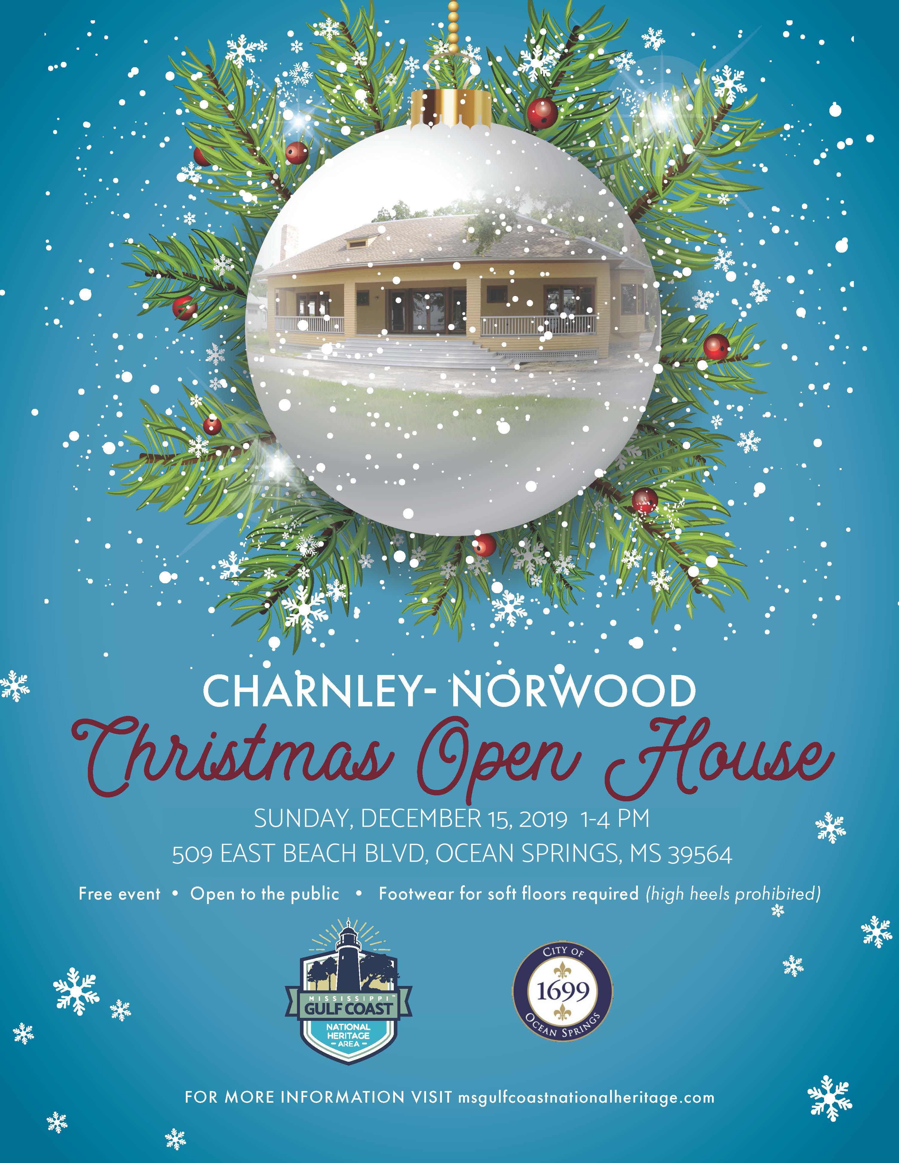Charnley-Norwood Christmas Open House