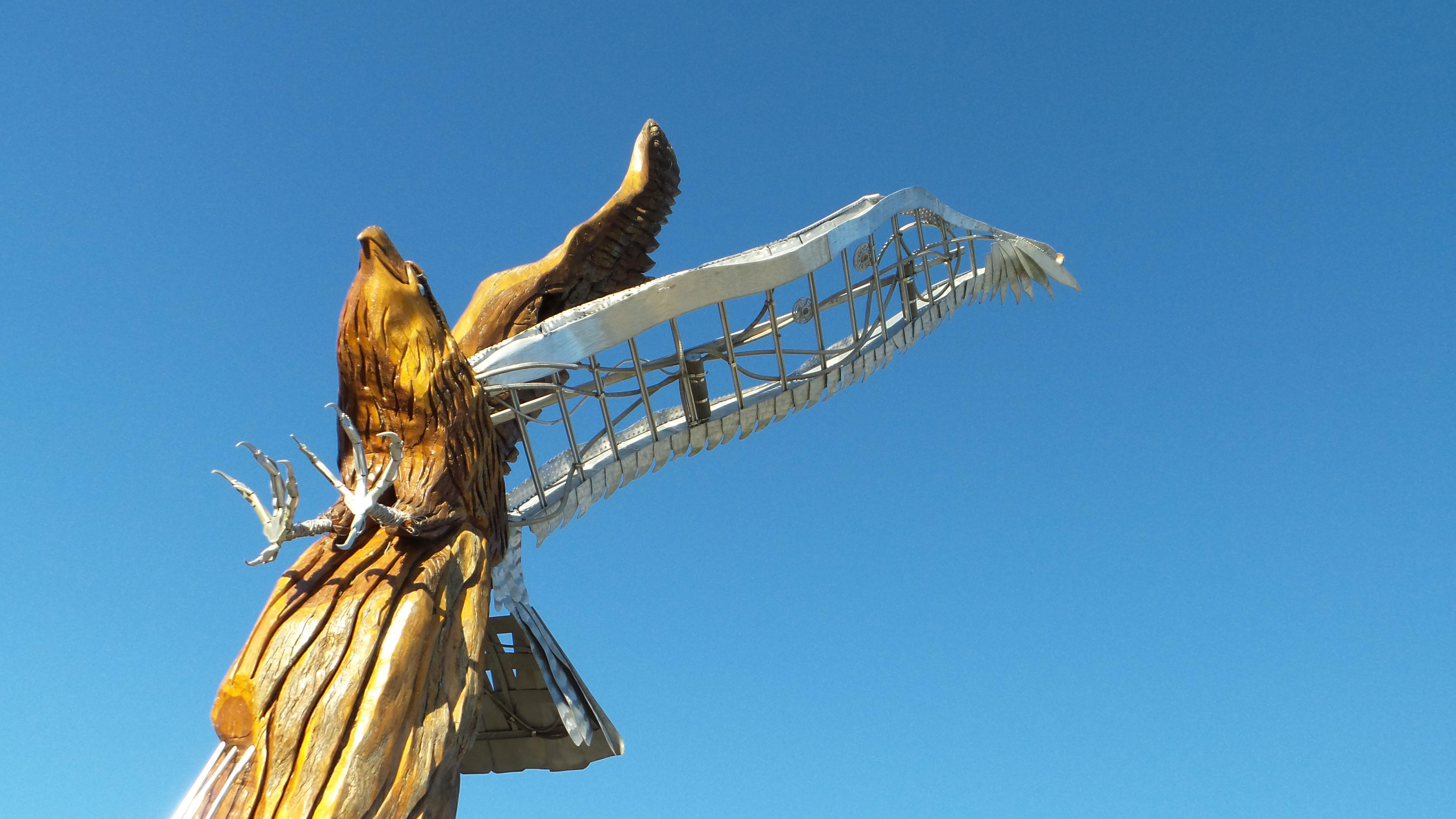 Hurricane Katrina Tree Sculptures