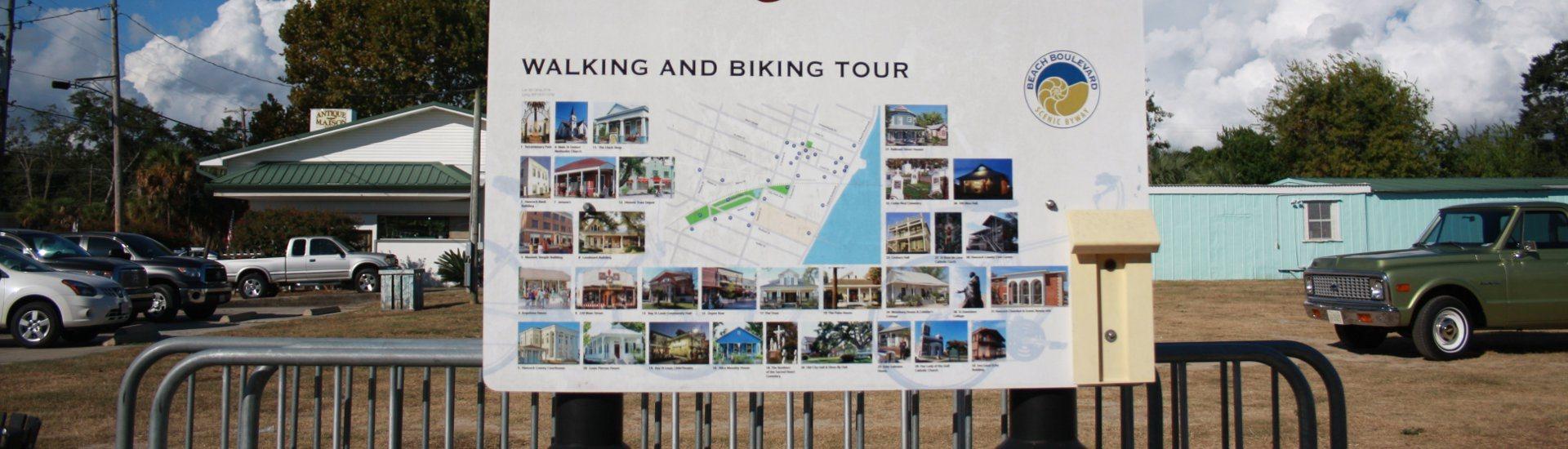 Bay St. Louis Historic Walking & Biking Tour