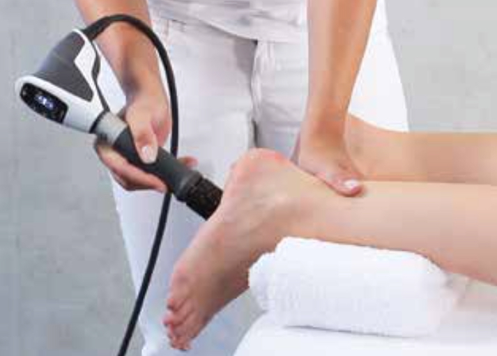 White Sands Podiatry EPAT Shock Wave Therapy on pam
