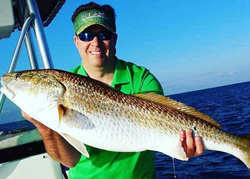 Cooler Weather and Hot Pensacola Redfish Action!!!