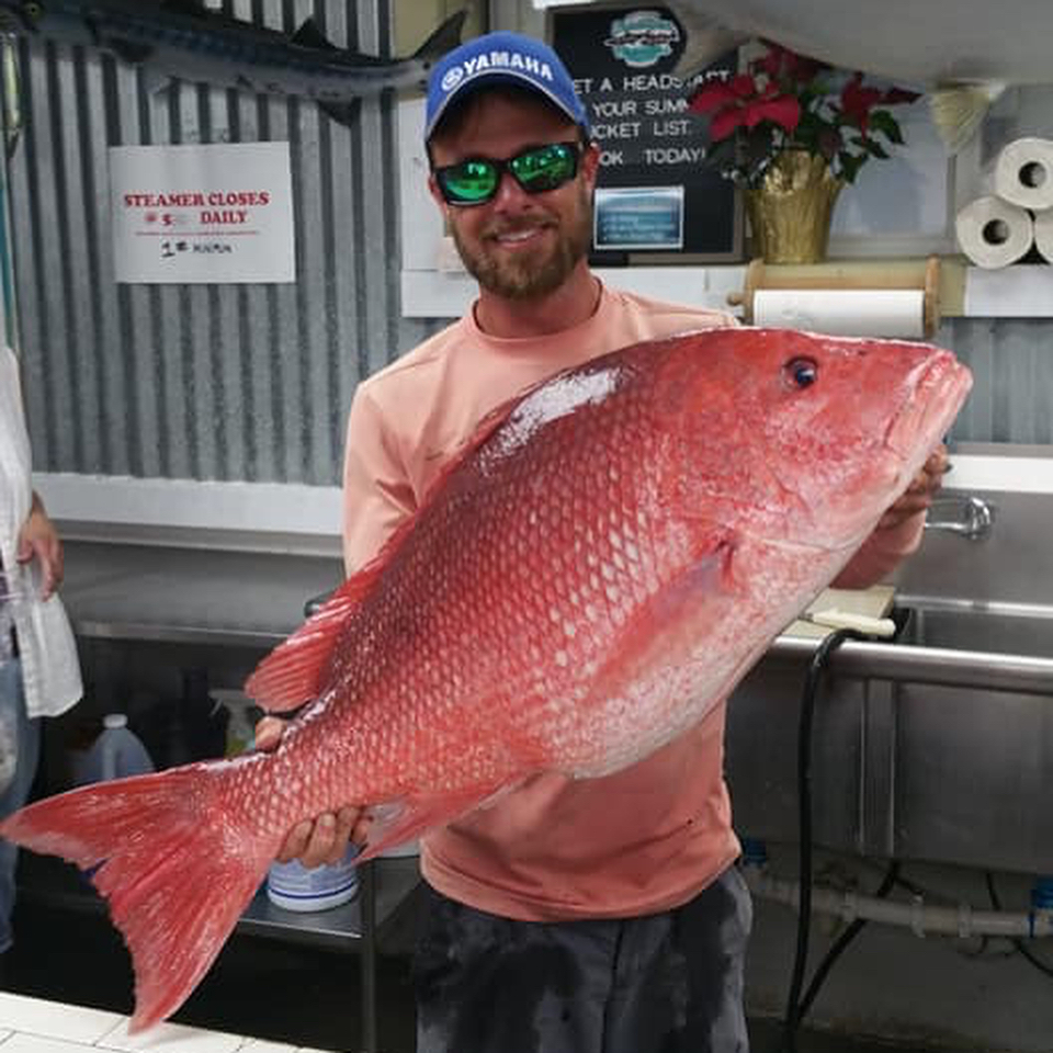Big Pensacola Red Snapper!!!