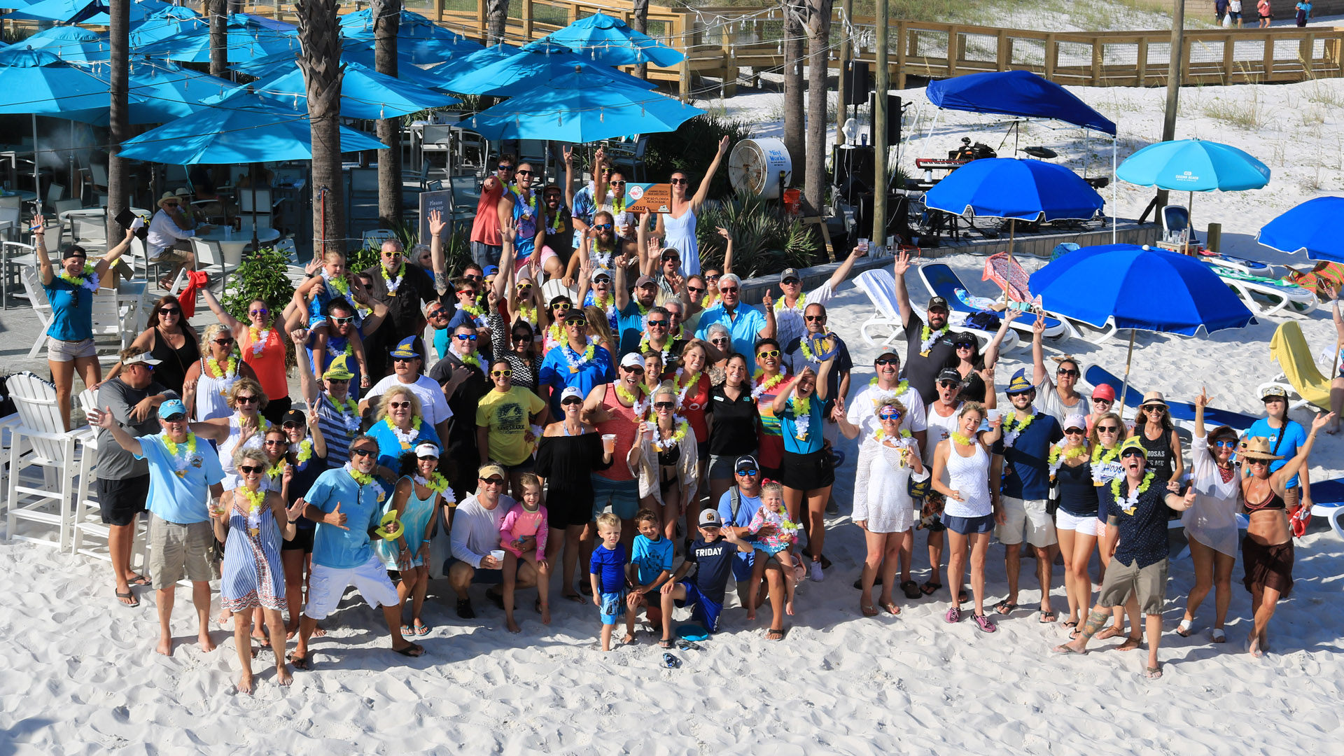 Florida's Best Beach Bar Award 2017