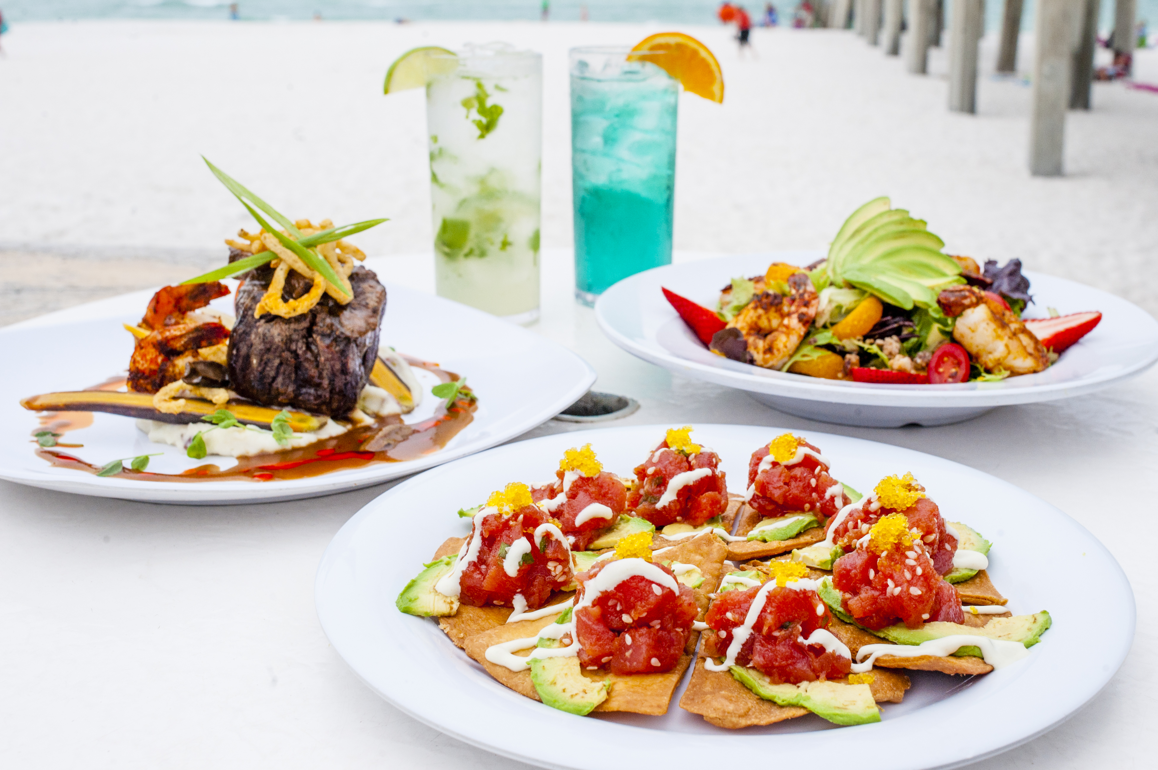 Food by the pier
