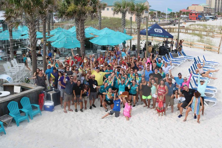 Celebrating the 2018 Florida Beach Bar Award Party!