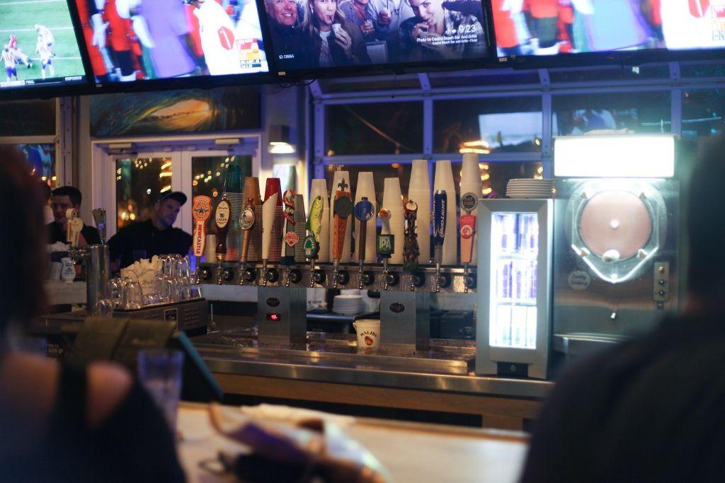Casino Beach Bar at Night