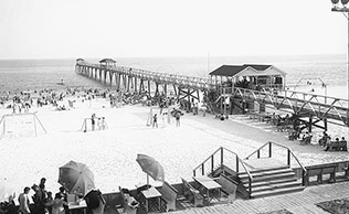 Historic Photo of Casino Beach