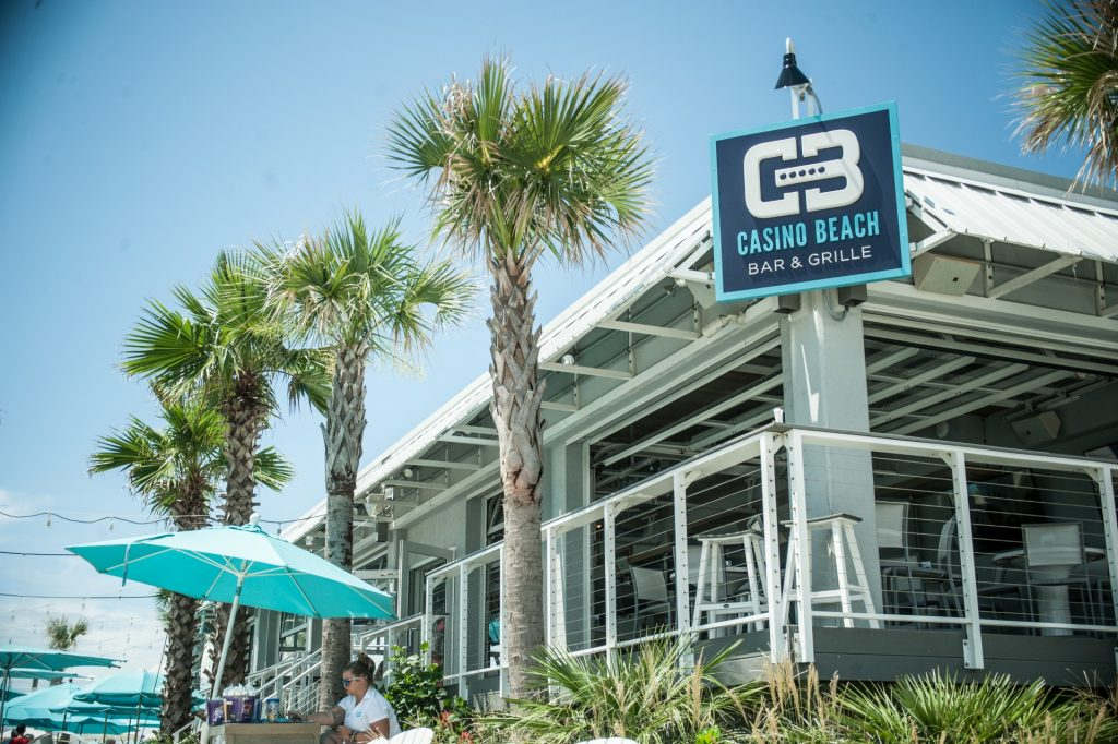 Outside view of Casino Beach Bar & Grille