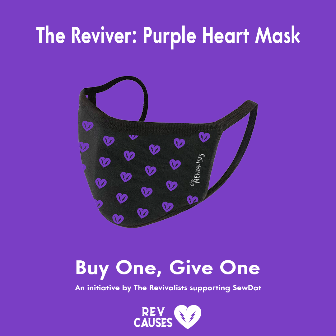 The Reviver : Purple Heart Mask