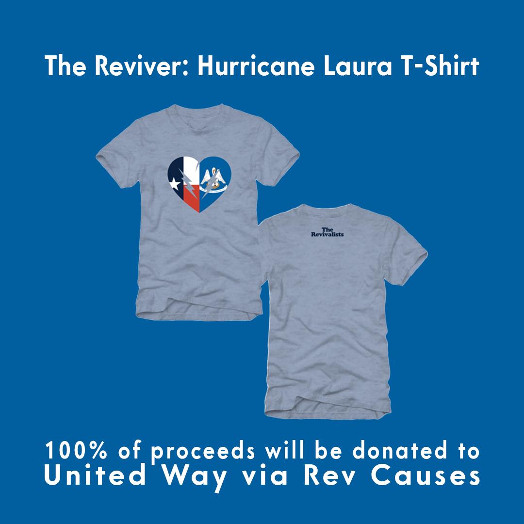The Reviver: Hurricane Laura T-Shirt