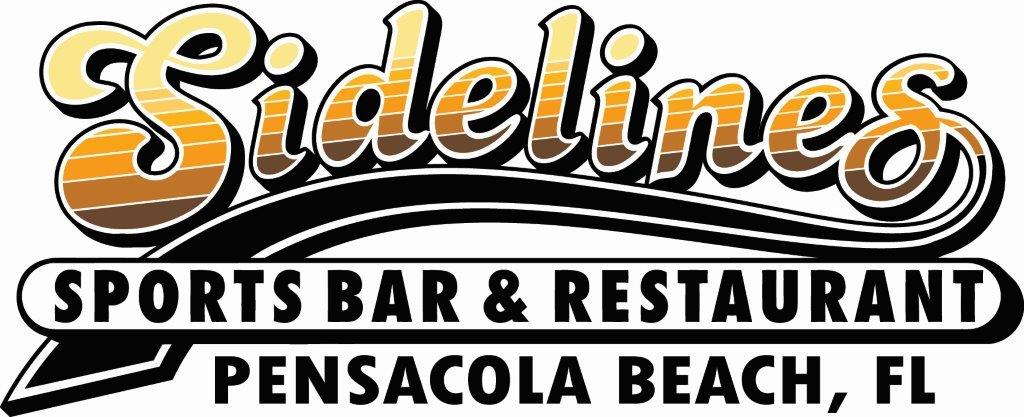 Sidelines Sports Bar and Restaurant logo will link to the home page
