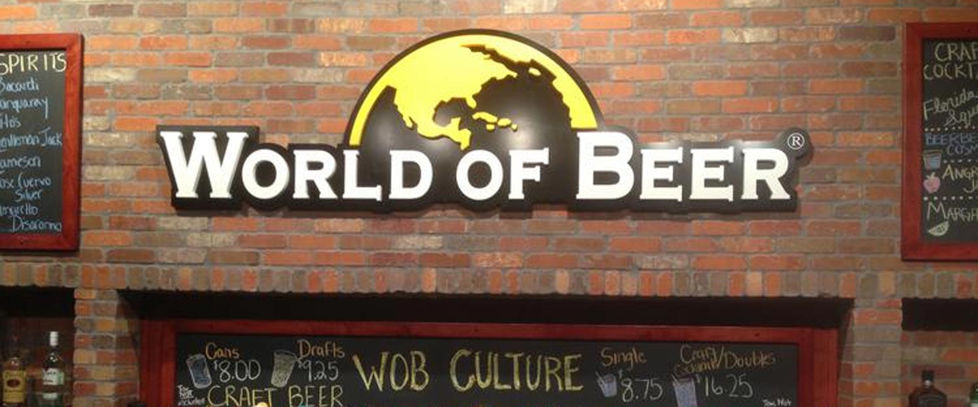 Businesses we have helped: World of Beer