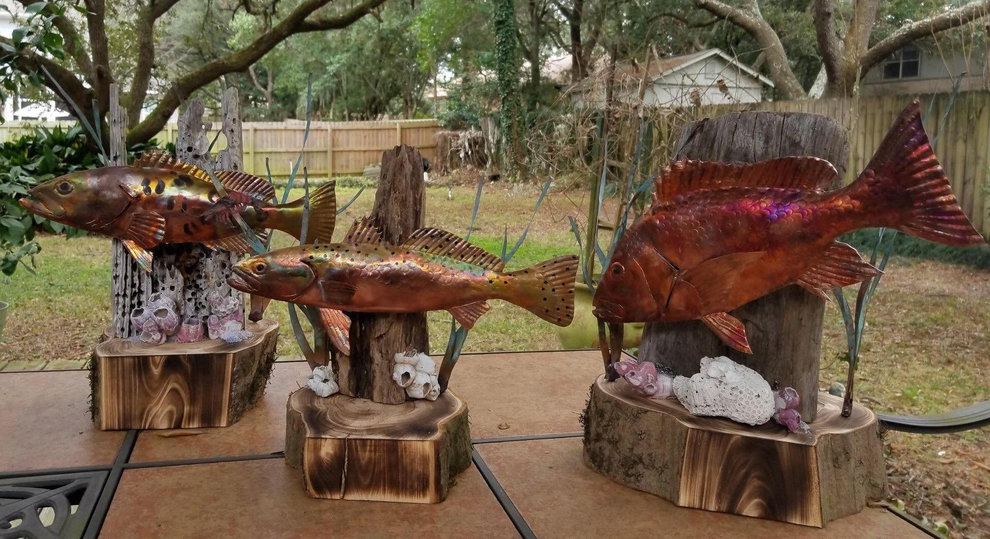 Gulf Breeze Sertoma Family Fishing Rodeo Trophies