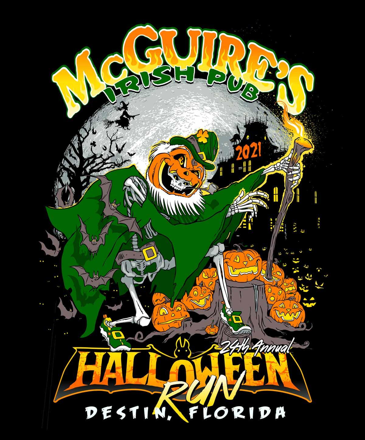 McGuire's of Destin 24th Annual Halloween 5K Run/Walk 10K Run