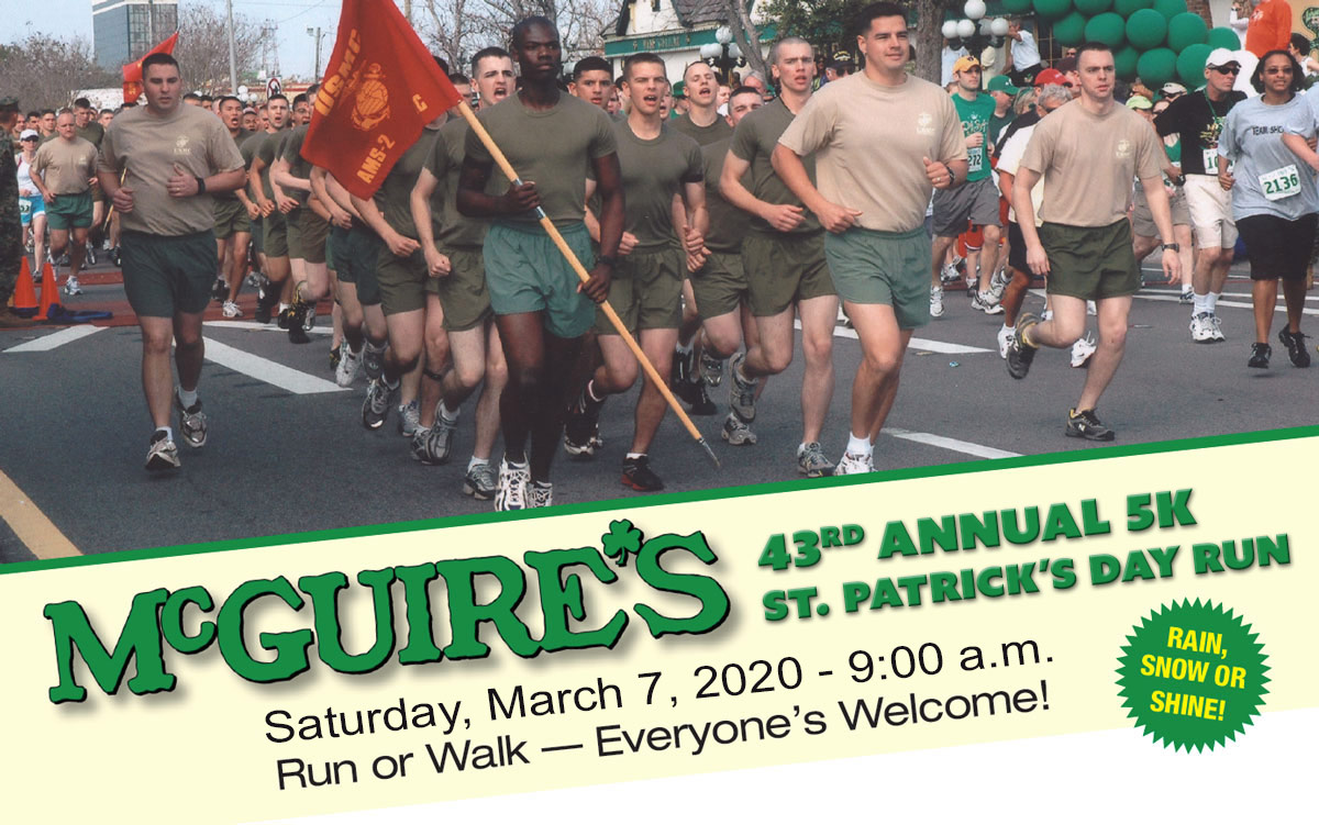 McGuires St Patricks Day 5k Run 2020