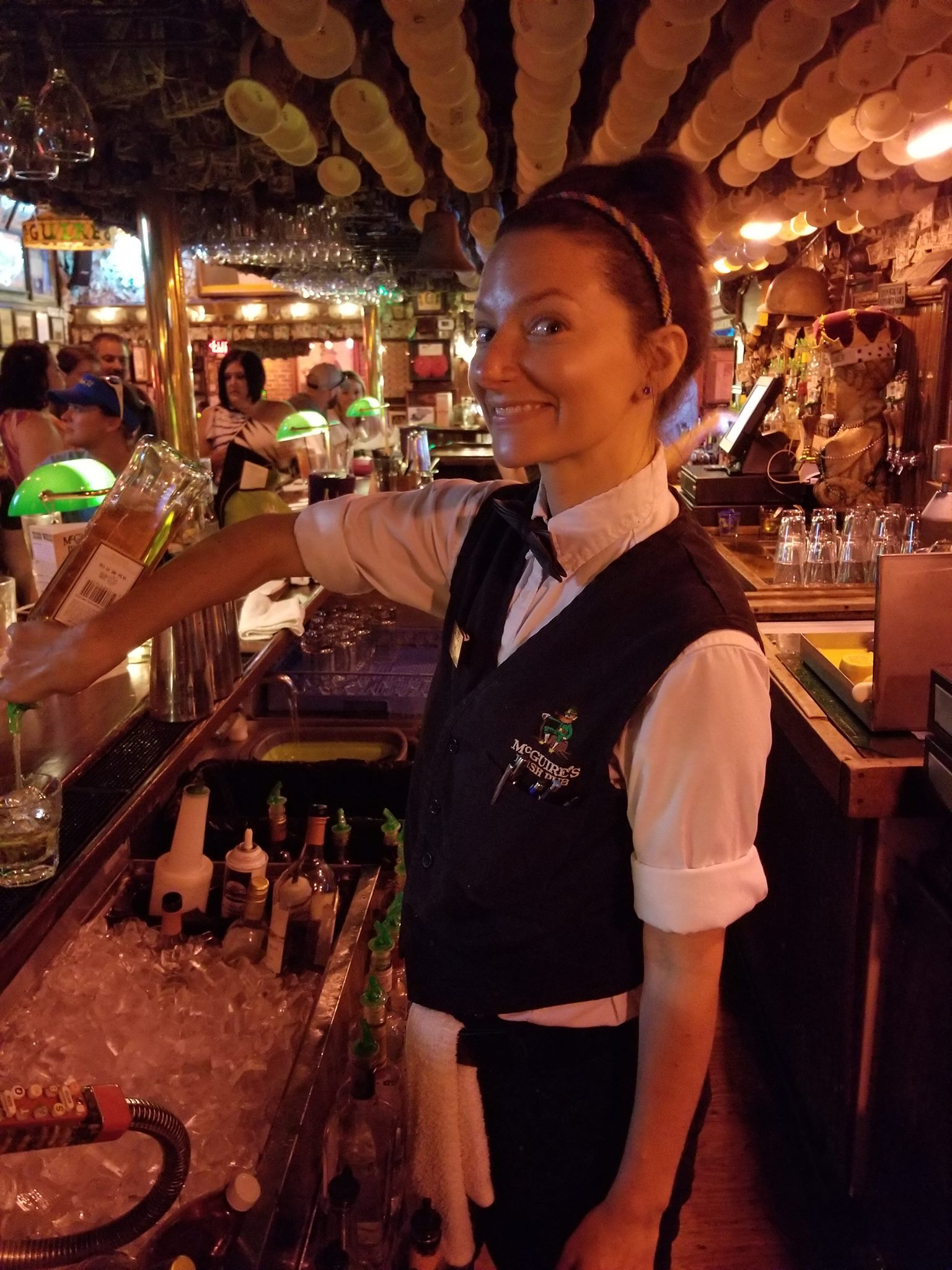 McGuire's Warm and Friendly Bartender