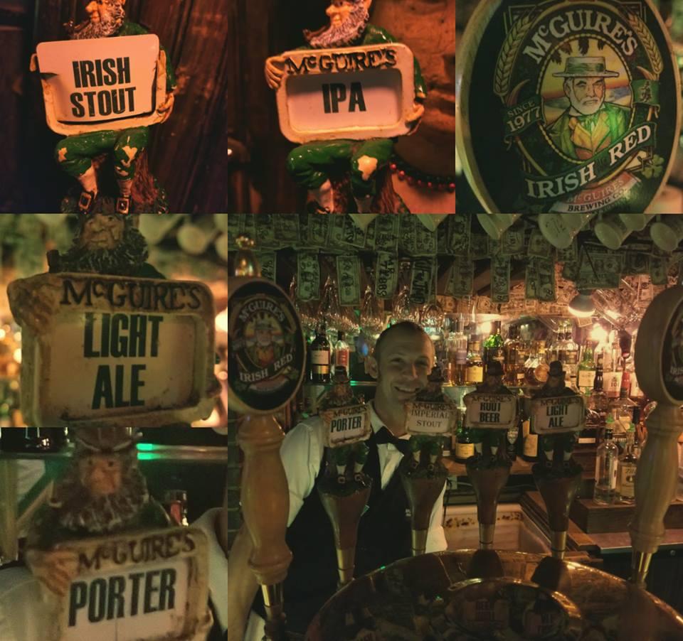 Beers at Pensacola Brewery