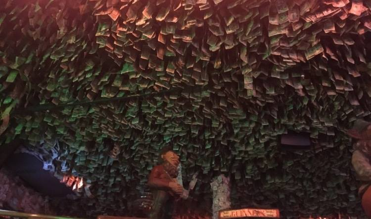 The million dollar ceiling!