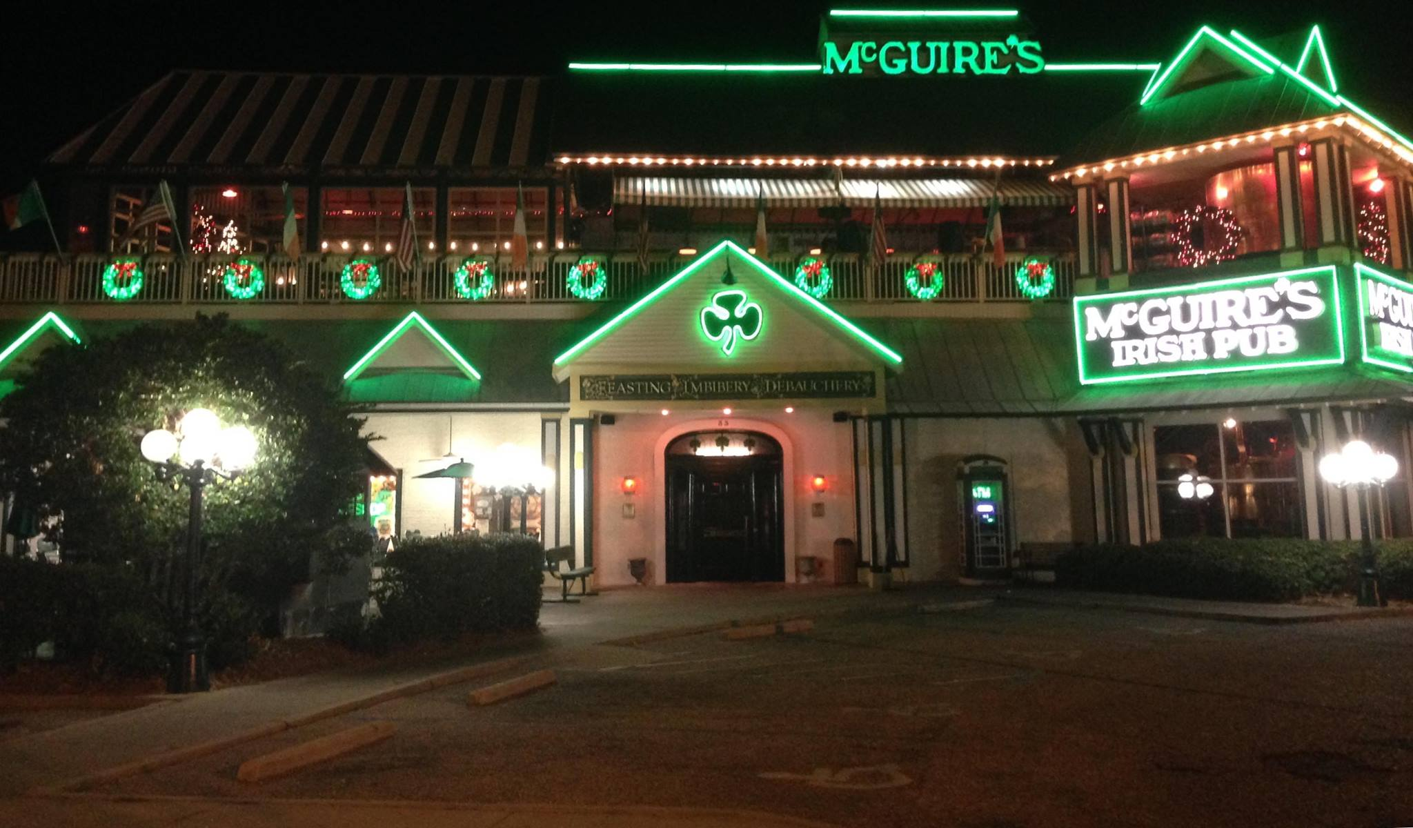 Outside view of McGuires Destin
