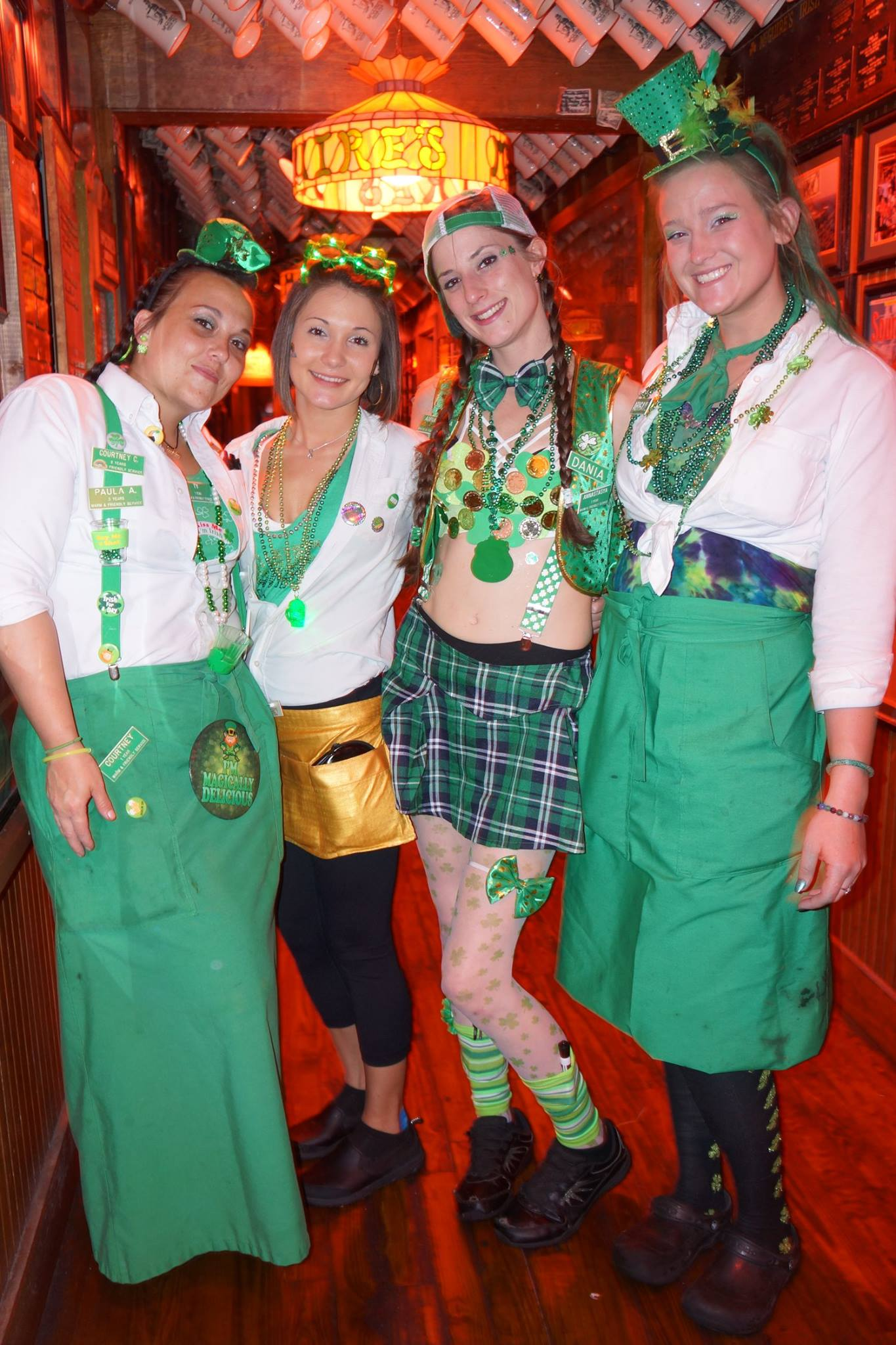 St Patrick's Day at  McGuire's