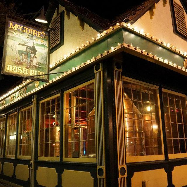 Welcome! To McGuire's Irish Pub Pensacola