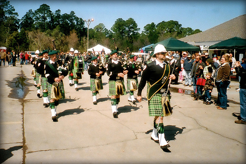 McGuire's Irish Pub Pipe Band
