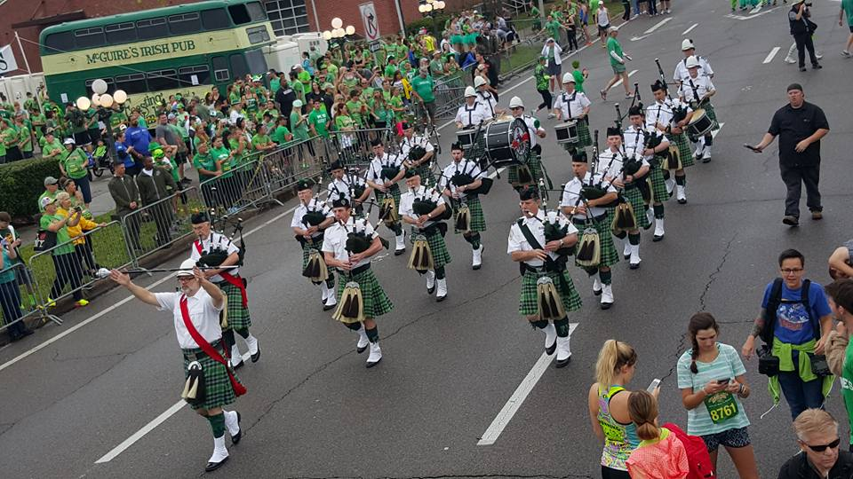McGuire's Irish Pipe Band Bagpipes