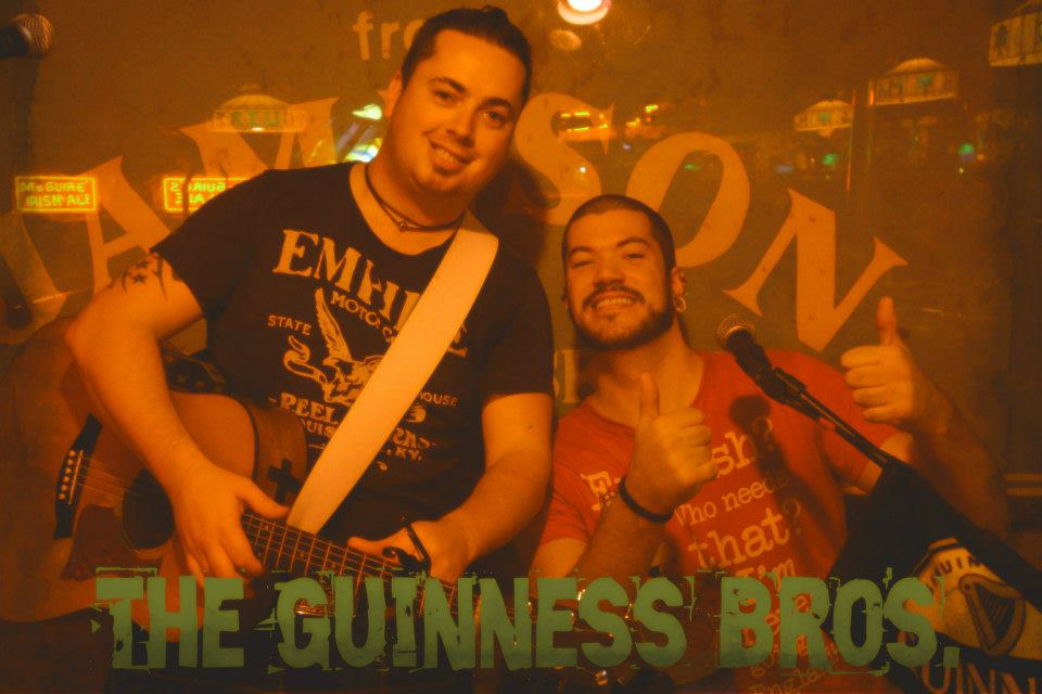The Guinness Brothers, entertainers