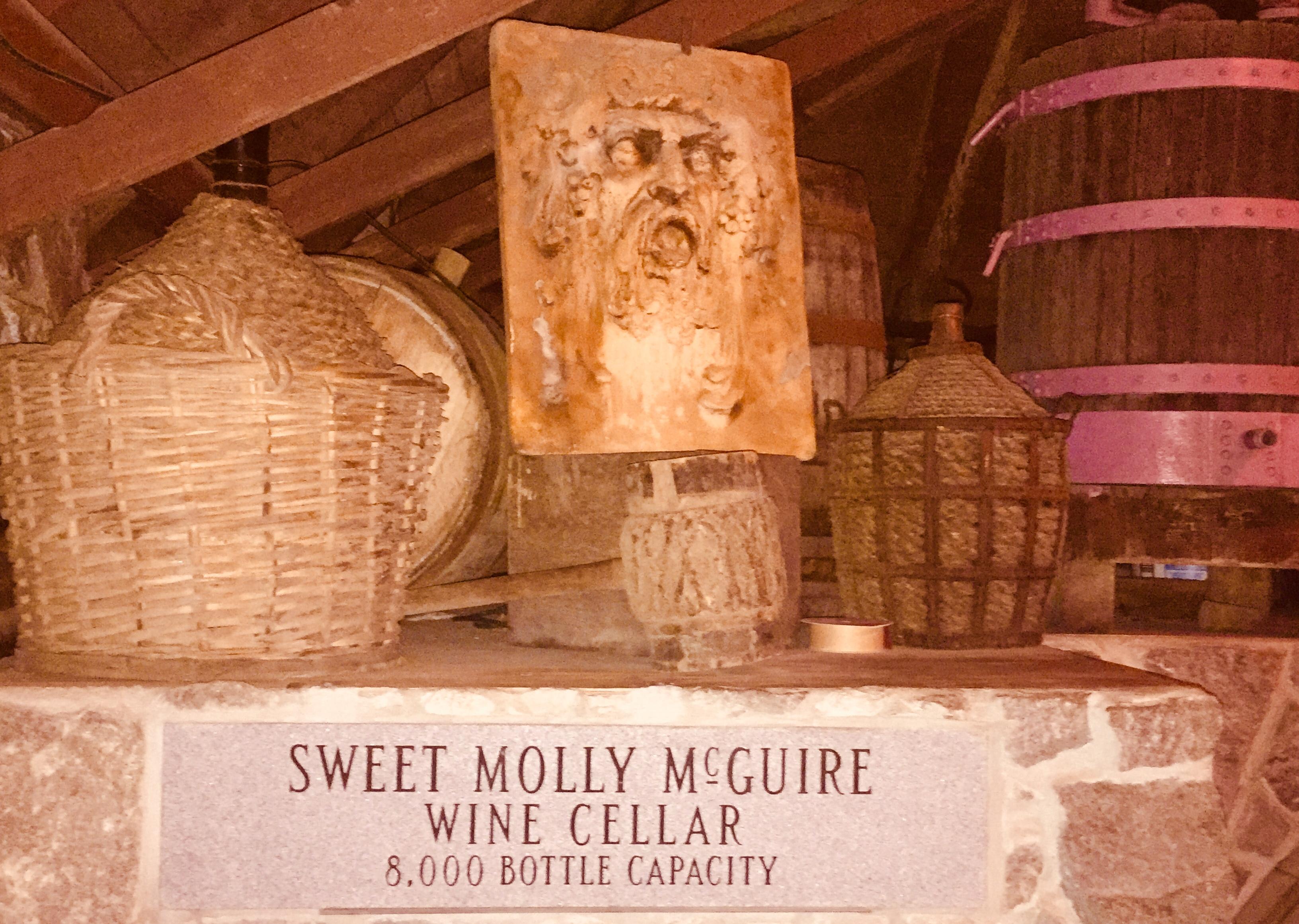 McGuire's wine cellar