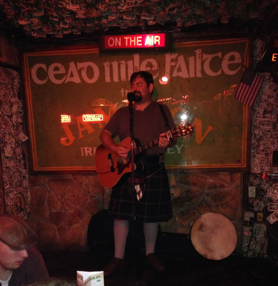 JJ Smith at McGuire's