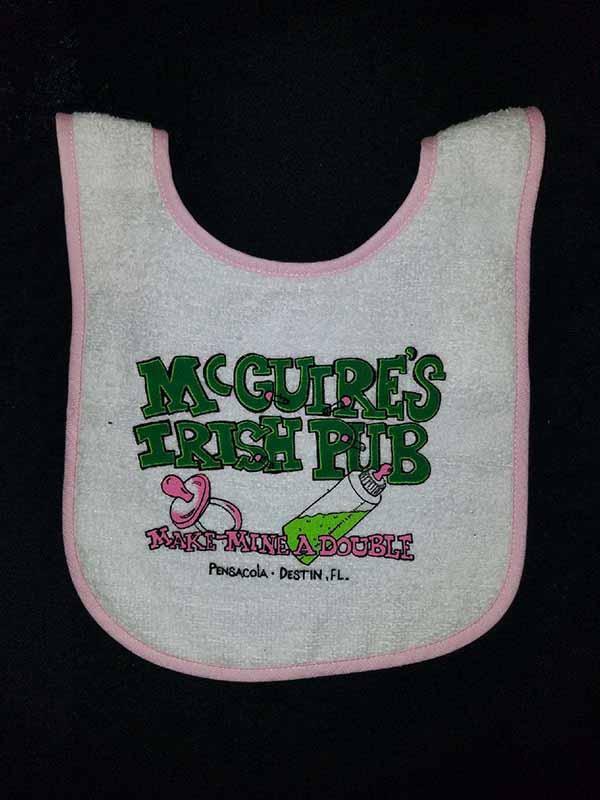 McDouble Bib - Pink
