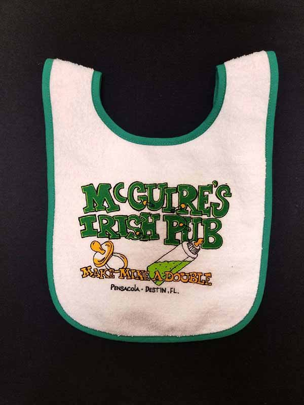 McDouble Bib - Kelly Green